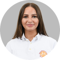 Adelina Bajrami, Auszubildende MFA Gesundheitszentrum Dr. Dr. Tadzic