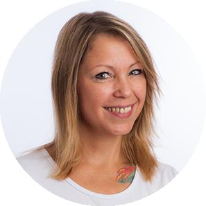 Michaela Bensch, Verwaltungsmitarbeiterin Gesundheitszentrum Dr. Dr. Tadzic